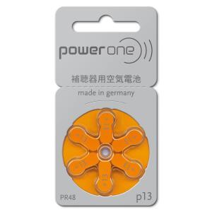 長持ち長時間  ドイツ製 補聴器用空気電池 PR48 13相当 biomedicalnet