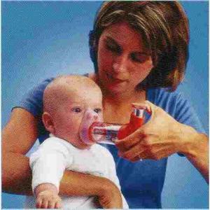 エアロチャンバープラス MDI用スペーサー マスク付き乳児用(0〜18ヶ月)  吸入器 biomedicalnet