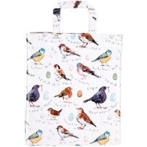 鳥柄 雑貨 グッズ/小鳥のブックバッグ Bird Song bird-style