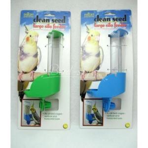 インコ 鳥 餌入れ/サイロバードフィーダー ラージタイプ|bird-style