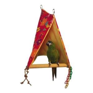インコ 鳥 保温/ピーカーブー止まり木付きバードテント L bird-style