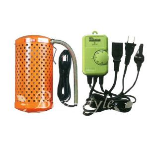インコ 鳥 保温/保温器具セット(ペットヒーター60W+電子サーモスタット)