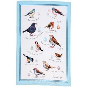 鳥柄 雑貨 グッズ/小鳥のティータオル Bird Song|bird-style