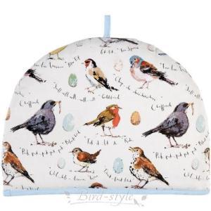 鳥柄 雑貨 グッズ/小鳥のティーコージー Bird Song|bird-style