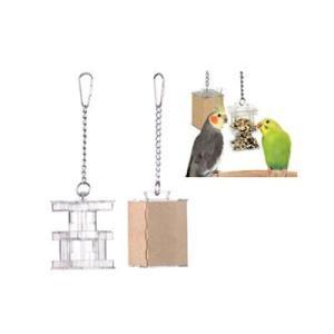 インコ 鳥 おもちゃ/フォージング ボックスフィーダー|bird-style