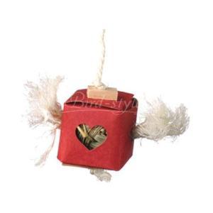 インコ 鳥 おもちゃ/ボールインボックス 小|bird-style