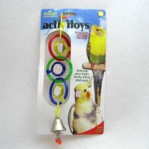 インコ 鳥 おもちゃ/バードトイ・トリプルミラー|bird-style
