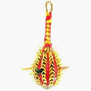 インコ 鳥 おもちゃ/パイナップル・フォージングトイ M|bird-style