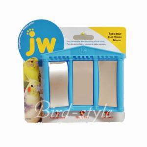 インコ 鳥 おもちゃ/バードトイ・ファン ハウス ミラー|bird-style