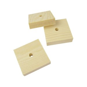 BMオリジナル / 無垢木正方形40×40×10mm / 9991384