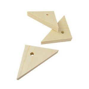 BMオリジナル / 無垢木三角80×5.7×10mm / 9991386