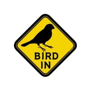 BMオリジナル / BIRD IN ステッカー 文鳥 / 9992057