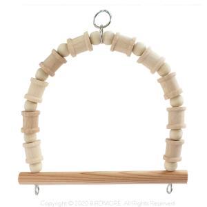 バードモア オリジナル / モアブランコ・小 / 9992786 ネコポス 対応可能  ( 鳥 とり トリ インコ オウム おもちゃ ブランコ バードモア )|birdmore