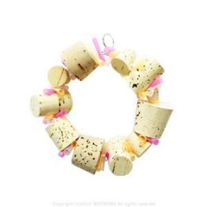 9994194【ALOHA HEAVEN ( アロハ ヘブン )】ブロークンリース ( 鳥 とり トリ 鳥用品 インコ オウム おもちゃ TOY ステンレス )