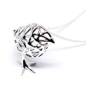 Pio by Parakee / ペンダント・シルバー/ひよこ/235A0219 ( BIRDMORE バードモア 鳥用品 鳥グッズ 鳥 とり トリ インコ 文鳥 コザクラ ヨウム オウム プレゼン|birdmore
