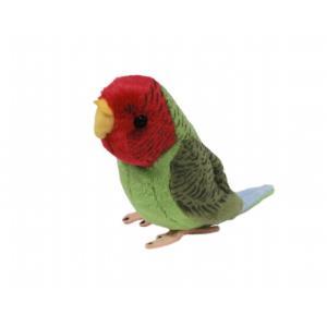 ぬいぐるみ101 コザクラインコ いんこ 小鳥 鳥のヌイグルミの商品画像 ナビ