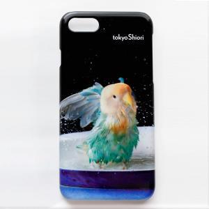 tokyoShiori / スマホケース20 / 245A0236( BIRDMORE バードモア コザクラ 小桜 鳥用品 鳥グッズ 鳥 とり インコ プレゼント )|birdmore