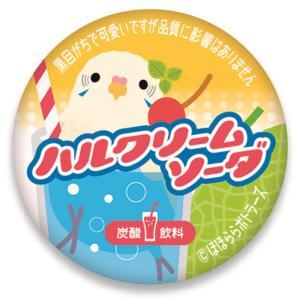 ほほらら工房 / 缶バッジ ( 牛乳キャップ ) /白ハルクインソーダ / 244A0218