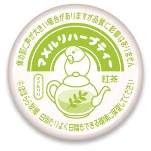 ほほらら工房 / 缶バッジ ( 牛乳キャップ ) /マメルリハーブティー / 244A0226