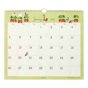 MIDORI / 2020年 壁掛カレンダー(L)トリ柄 / 30192-006 / 9995533( BIRDMORE バードモア 鳥用品 鳥グッズ 鳥 とり トリ インコ 文鳥 プレゼント )|birdmore