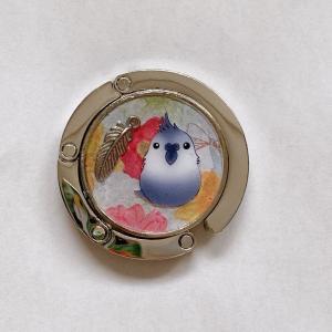 ぴのとま / ★バックハンガー / オカメ・WF / 247A0397 ネコポス 対応可能 ( BIRDMORE バードモア 鳥用品 鳥グッズ 雑貨 グッズ 鳥 とり トリ インコ ) birdmore