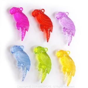 パロットチャーム ( 1個 ) / 9997715  ネコポス 対応可能 ( BIRDMORE バードモア 鳥用品 鳥グッズ 雑貨 鳥 とり おもちゃ プレゼント  ) birdmore