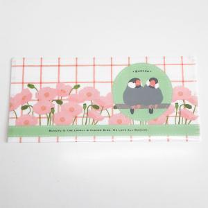 spica* / チケットホルダー・コクリコOrange / 文鳥・桜 / 138A0203 ネコポス 対応可能 ( BIRDMORE バードモア 鳥用品 鳥グッズ 雑貨 鳥 とり プレゼント  )|birdmore