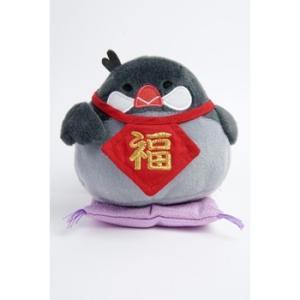 フレンズヒル / クッション S まねきさくら グレイ KS-305-201 ( BIRDMORE バードモア 鳥用品 鳥グッズ 雑貨 鳥 とり プレゼント )|birdmore