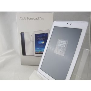 ASUS Fonepad 7 LTE SIMフリー ホワイト 中古 タブレットPC|birds-eye