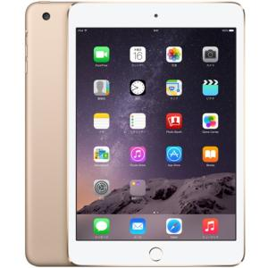 apple iPad mini3 Wi-Fi 128GB Gold A1599 タブレットPC 未使用・未開封品
