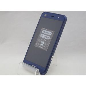 SHV38 AQUOS SERIE mini ネイビー au(エーユー) SHARP シャープ 中古 スマホ スマートフォン birds-eye