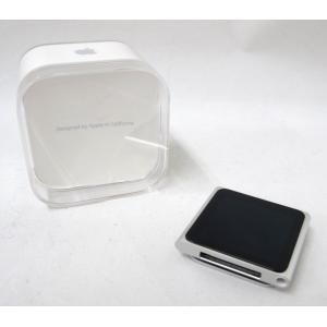 中古 Apple iPod nano MC525J/A シルバー 8GB アップル アイポッド ナノ