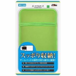 新品 WiiU ポータブルポーチ(ライトグリーン)|birds-eye