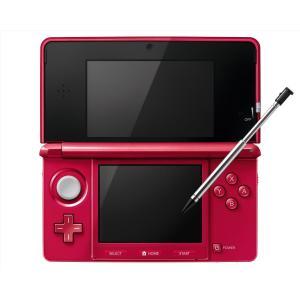 3DS ニンテンドー3DS(メタリックレッド) 3DS本体 ...