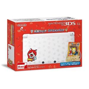 3DSLL 妖怪ウォッチ ジバニャンパック 限定カード「ゴルニャン」付き 中古 3DSLL 本体|birds-eye