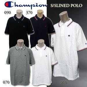 チャンピオン メンズ ポロ XL LL 3L 4L 5L  CHAMPION C3-V352L ラインド ポロシャツ ビッグサイズ|birigo