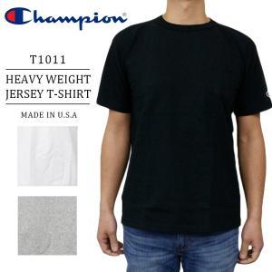 チャンピオン メンズ T1011 Tシャツ アメリカ製 CHAMPION C5-B303 ポケット付き US Tシャツ|birigo