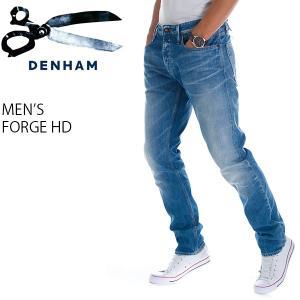 デンハム メンズ  デニム ジーンズ リラックス フィット DENHAM 01-14-02-11-047 FORGE HD|birigo
