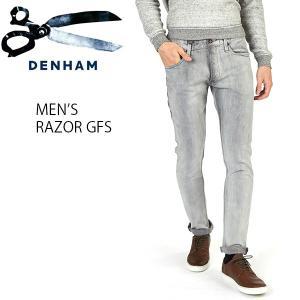 デンハム カジュアル メンズ  デニム ジーンズ DENHAM 01-13-11-11-026 RAZOR GFS|birigo