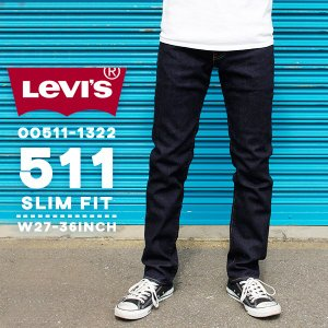 リーバイス メンズ ジーンズ デニム LEVIS 00511-13L22 511 スリム フィット|birigo