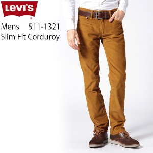 デニム ジーンズ メンズ パンツ リーバイス LEVIS 04511-1321 511 スリムテーパ...