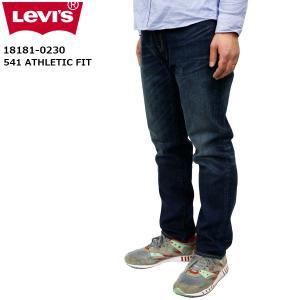 リーバイス メンズ ジーンズ デニム ストレート LEVIS 18181-02L30 541 アスレチック フィット ダーク ヴィンテージ ATHLETIC FIT DARK VINTAGE|birigo