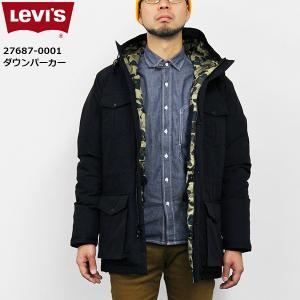 リーバイス メンズ ジャケット アウター LEVIS 27687-00L01 ダウン パーカー|birigo