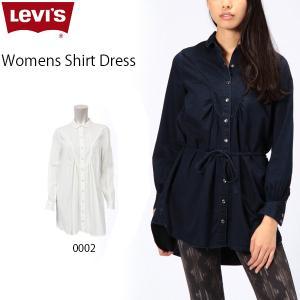 リーバイス Levi's レディース シャツ ワンピース ワンピ 長袖 LEVIS 50887 シャツドレス|birigo