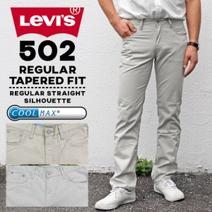 LEVIS リーバイス メンズ 502 REGULAR TAPERED FIT COOLMAX レギ...