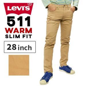 リーバイス メンズ ストレッチパンツ LEVIS warm04511 511 WARM SLIM F...