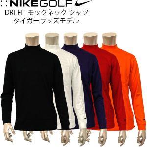 ナイキ ゴルフ メンズ ウエア NIKE GOLF 375528 モックネック シャツ タイガーウッズモデル|birigo