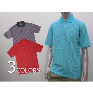 ナイキ ゴルフ ポロシャツ メンズ NIKE GOLF 402330 ボーダー ポロ タイガーウッズ モデル|birigo