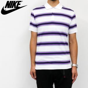 ナイキ ゴルフ ポロシャツ メンズ NIKE GOLF 402474 DRI-FIT シーズナル ストライプ ポロ|birigo