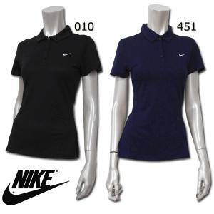 ナイキ NIKE LADYS SSトップス 405940  DRI-FIT パワーポロ レディース 女性 ポロシャツ テニスウェア 機能性 ドライフィット 吸汗機能 STAY COOL birigo